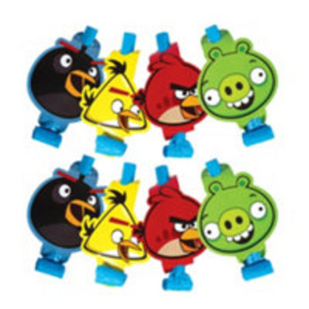 We Like To Party Angry Birds Blowouts, Pack of 8