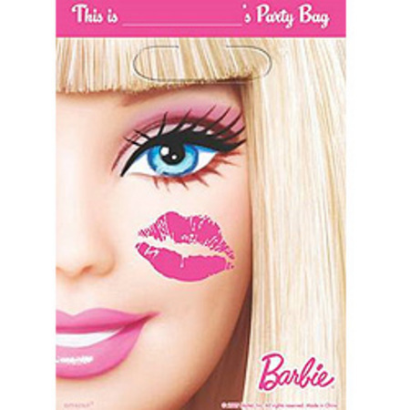 We Like To Party Barbie Party Loot Bags, Pack of 8