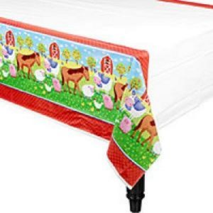 We Like To Party Barnyard Fun Tablecover