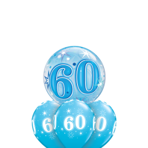 We Like To Party Sweet Sweet Sparkling 60th Birthday Balloon Bouquet