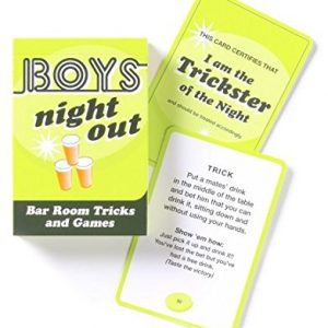 We Like To Party Bucks Night Boys Night Out Card Games