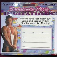 We Like To Party Hens Night Bachelorette Party Invitations