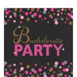 We Like To Party Hens Night Bachelorette Party Beverage Napkins