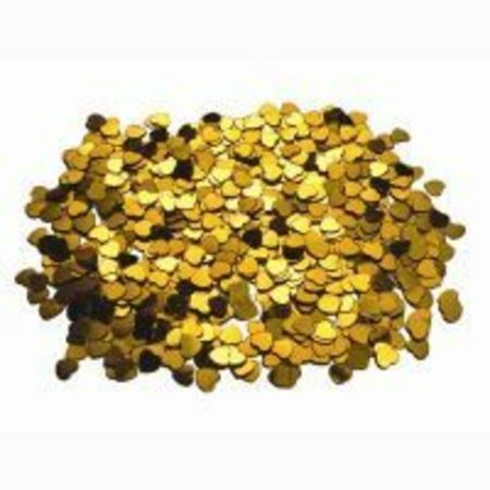 We Like To Party Table Confetti Hearts Gold