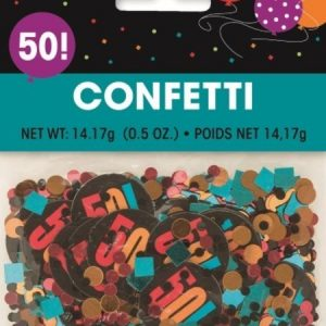 We Like To Party 50th Birthday Party Supplies And Decorations 50th Table Confetti