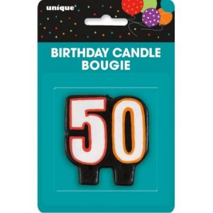 We Like To Party 50th Birthday Party Supplies 50 Birthday Candle