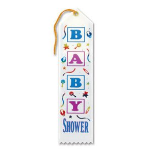 We Like To Party Baby Shower Party Supplies Baby Shower Ribbon