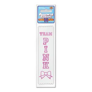 We Like To Party Baby Shower Party Supplies Think Pink Ribbon