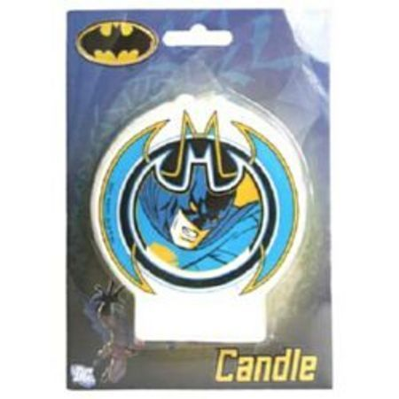 We Like To Party Batman Round Candle