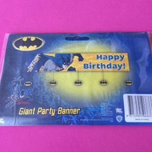 We Like To Party Batman Giant Party Banner