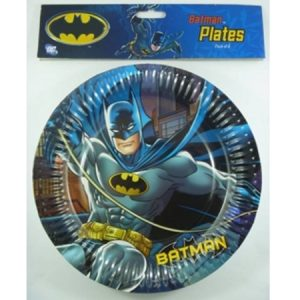 We Like To Party Batman Party Plates, Pack of 8
