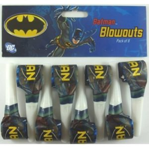 We Like To Party Batman Blowouts, Pack of 8