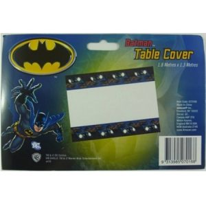 We Like To Party Batman Plastic Rectangle Tablecover