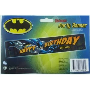 We Like To Party Batman Happy Birthday Party Banner
