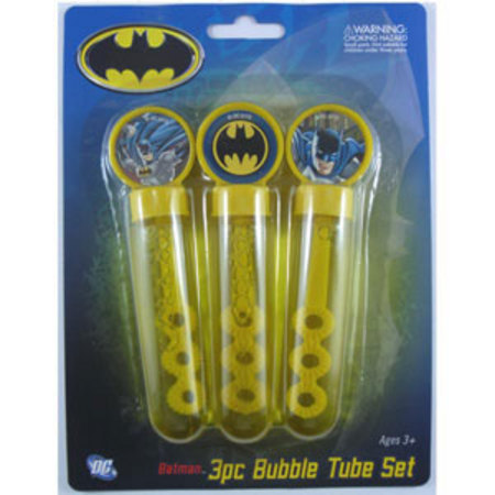 We Like To Party Batman Bubble Set, Pack of 3