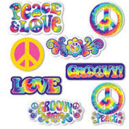 We Like To Party 60's Hippie Party 60's Party Supplies And Decorations