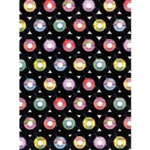 We Like To Party 50's Rock & Roll Party Supplies And Decorations 45 Records Scene Room Roll