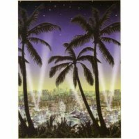 We Like To Party Hollywood Party Supplies & Decorations City Scape Scene Setter Room Roll