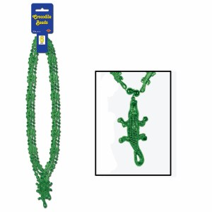 We Like To Party Australiana Party Supplies & Decorations Crocodile Necklace