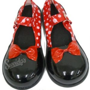 We Like To Party! Black and Red Clown Shoes Ladies