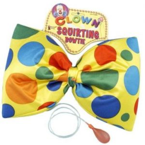 We Like To Party! Clown Squirting Jumbo Bowtie Polka Dots