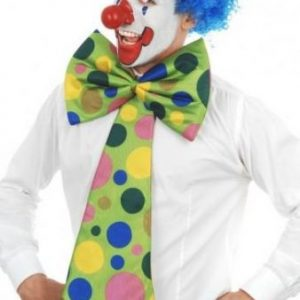 We Lik To Party! Clown Tie Oversized with Polka Dots
