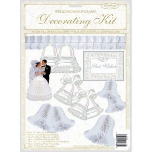 We Like To Party Best Wishes Decorating Wedding Kit
