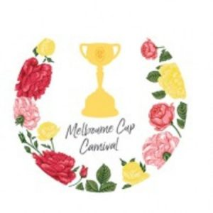 We Like To Party Melbourne Cup Carnival Cutouts Printed Both Sides