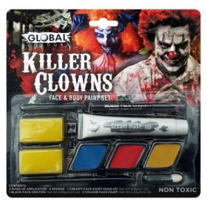 We Like To Party Killer Clowns Makeup Kit