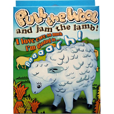 We Like To Party Bucks Night Inflatable Sheep With Sound Box