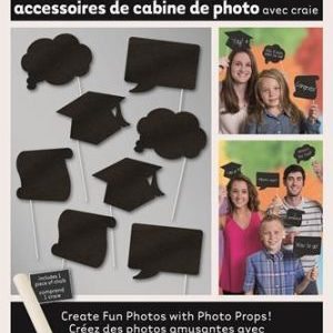 We Like To Party Graduation Photo Booth Props With White Chalk