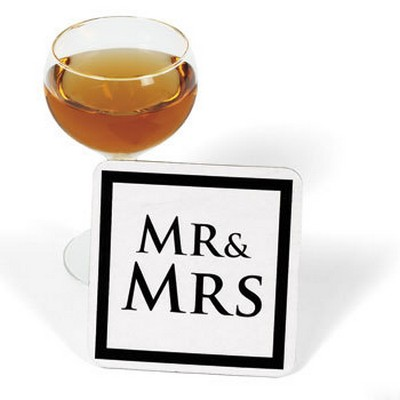 We Like To Party Mr & Mrs Drink Coasters
