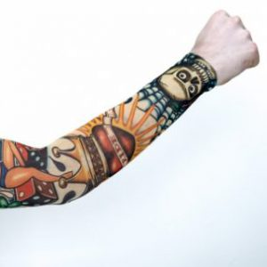 We Like To Party Costume Tattoo Sleeve