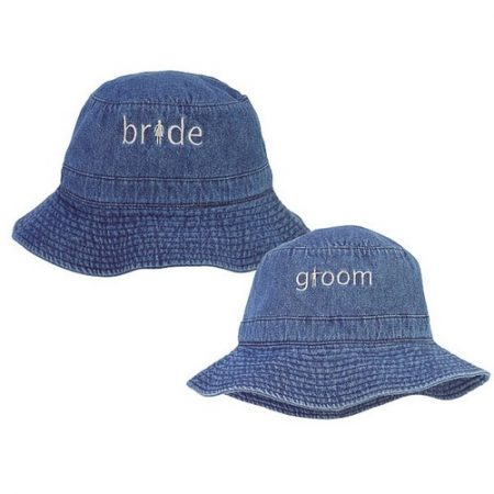 We Like To Party Wedding Denim Crusher Hats