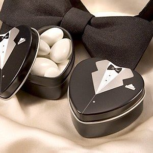 We Like To Party Wedding Favour Tins