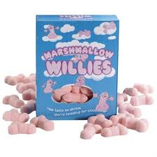 We Like To Party Edible Marshmallow Willies