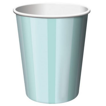 We Like To Party Pastel Green Small Paper Cups