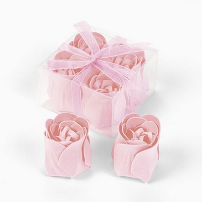We Like To Party Rose Shape Soap Set