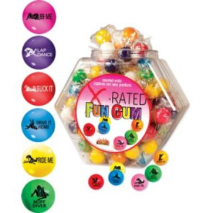 We Like To Party Hens Party Edibles X-Rated Gum