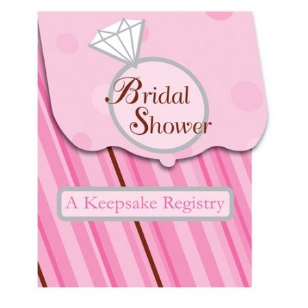 We Like To Party Bride 2 Be Dots Bridal Shower Keepsake Registry