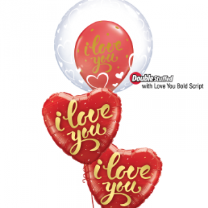 We Like To Party Love Balloon Bouquet