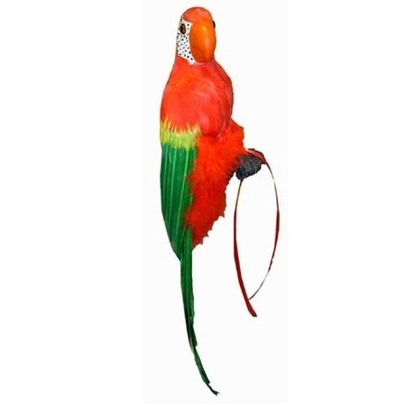 We Like To Party Luau Feathered Parrot Party Decoration