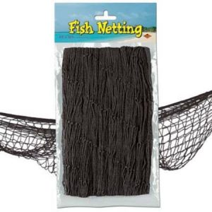 We Like To Party Fish Net Black