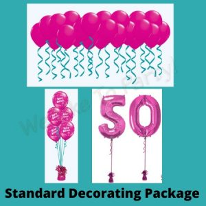 We Like To Party Standard Balloon Decorating Package