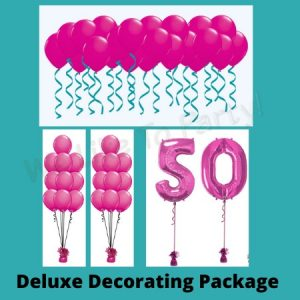We Like To Party Deluxe Balloon Decorating Package