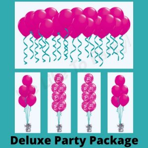 We Like To Party Deluxe Party Balloon Package