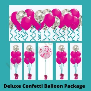 We Like To Party Deluxe Confetti Balloon Package