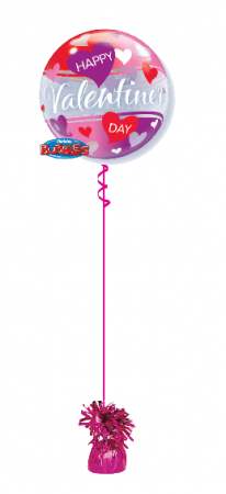 We Like To Party Happy Valentines Day Bubble Balloon