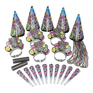 We Like To Party New Year Celebration Party Kit for 10 guests