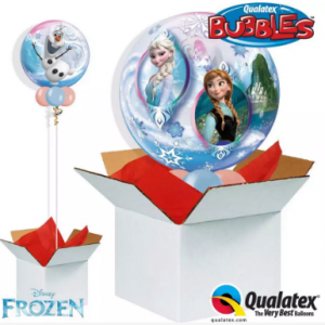 We Like To Party Frozen Bubble Balloon In A Box